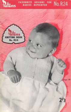 Patons R.24 Favourite designs for babies reprinted
