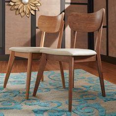 MID-CENTURY LIVING Penelope Danish Modern Tapered-leg Dining Chair
