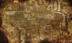 Top Brown Vintage Burst Background Wallpapers