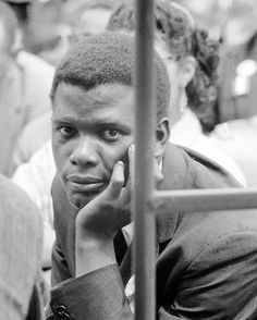 Happy 90th birthday to Sidney Poitier! Born today, Feb. 20, 1927 in Miami, Fla. He is pictured here at Martin Luther King Jr.'s Prayer Pilgrimage in Washington D.C., 1957. (Paul Schutzer—The LIFE Picture Collection/Getty Images)