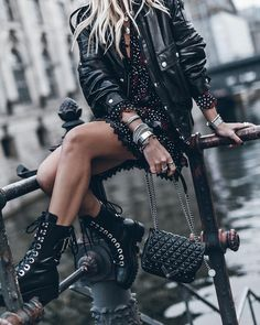 Style Rock Chic Rocker Chick Black Jeans 33 New Ideas Rock Outfits, Hipster Outfits, Edgy Outfits, Grunge Outfits, Girl Outfits, Fashion Outfits, Glam Rock Style Outfits, Summer Outfits, Princess Outfits