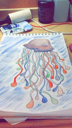 Ugly jellie 100th Day, Being Ugly, The 100, Drawings, Projects, Log Projects, Drawing, Portrait, Paint