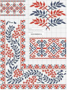 Palestinian embroidery patterns