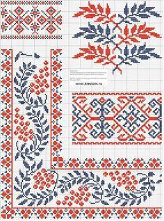 Palestinian embroidery patterns