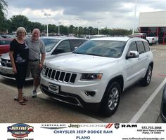 #HappyAnniversary to Sandra Mccurley on your 2014 #Jeep #Grand Cherokee from Bert Cox at Huffines Chrysler Jeep Dodge RAM Plano!