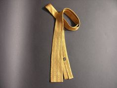 Cravate Pierre Cardin Vintage Années 60 - Cravate Rétro en Soie - Mode Homme Rétro Paris 1960 - Accessoire Vintage Mode Homme Couture 1960