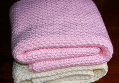 This baby blanket is a beginner-friendly pattern and can be done in about 11-12 hours. Of course, if this is your first project and it takes longer, don't beat yourself up