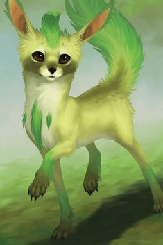 Eeveelutions - Leafeon by Evelar.deviantart.com on @DeviantArt