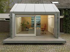Backyard Atelier: Smooth Garage To Studio Transformation