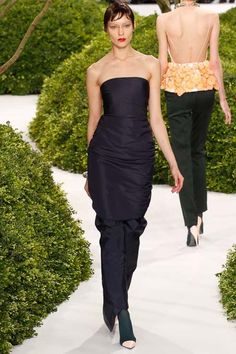 Spring 2013 Couture- Dior  http://markdsikes.com/2013/01/31/garden-couture-spring-2013-couture-part-2/