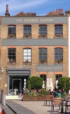 the modern pantry #London #Eating #Recommended