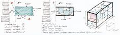 Image 49 of 51 from gallery of 7x18 House / AHL architects associates. Massing Diagram