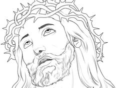 Religious Art Drawings | how to draw jesus 30 Magnificent Drawings of Jesus