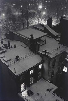 Photography Book André Kertesz, Roof Top Views, New York, 1958 Andre Kertesz, Budapest, Mondrian, Claude Monet, Vincent Van Gogh, Black And White City, Night Pictures, Photo Awards, City Photography