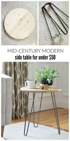 mid-century-modern-side-table-for-under-50