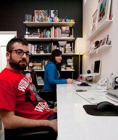 Escritorio para dos en línea