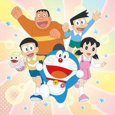 Word Drawings, Disney Drawings Sketches, Easy Cartoon Drawings, Doraemon Cartoon, Doraemon Cake, Doraemon Wallpapers, Favorite Cartoon Character, Old Cartoons, Binder Covers