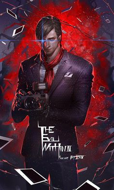 Stefano Valentini (Valentini Stefano) - The Evil Within 2 - Image - Zerochan Anime Image Board All Video Games, Video Game Art, Game Character, Character Concept, The Evil Within Game, Cry Of Fear, Daughter Of Smoke And Bone, Boy Pictures, Resident Evil