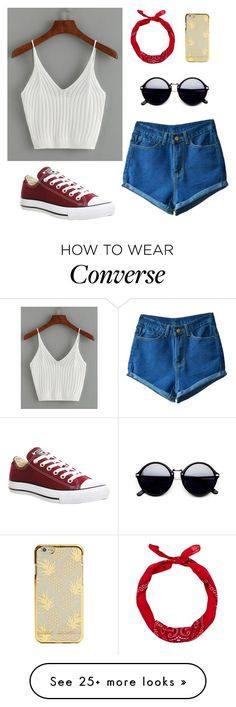 """""""Summer Style 316"""" by mrswilkinson on Polyvore featuring Converse and New Look"""