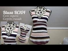 Blusa BC104 | EL BAÚL DE LAS COSTURERAS. Patrón gratuito para descargar