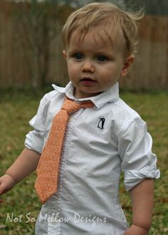 Toddler Boy Tie  lets get Carl Mom to give us different age pictures do in black in white for shower an hang on banner or put in frames in a decorative spot