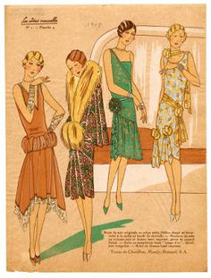 1927-1928, Plate 055. Fashion plates, 1700-1955. The Costume Institute Fashion Plates. The Metropolitan Museum of Art, New York (b17520939) #fashion