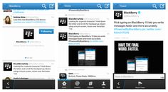 New Twitter for BlackBerry 10 with Draft Tweet Support, Swipeable Timeline & More