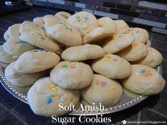 Soft Amish Sugar Cookies