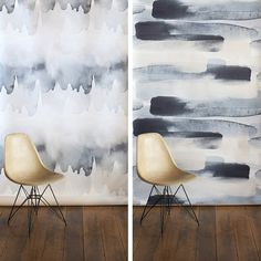watercolour wallpaper by Emma Hayes