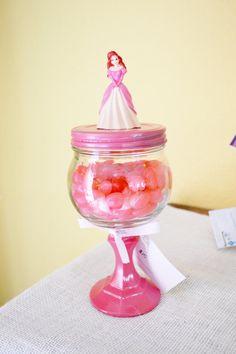 Ariel Little Mermaid Candy Jar on Pedestal  ready by GiftsbyGaby