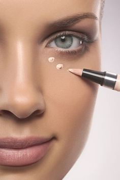 Keep concealer from looking cakey