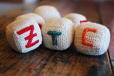 Crochet & embroidery toys