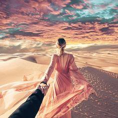 Follow me to the magical desert of Abu Dhabi
