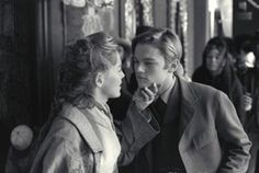 Leonardo DiCaprio & Sharon Stone (The Quick and the Dead 1995) Sam Raimi. Photo TriStar Pictures.