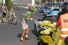 Imágenes del atropello a Peter Sagan en la Vuelta a España 2015