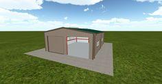 Cool 3D #marketing http://ift.tt/2ws3nVz #barn #workshop #greenhouse #garage #roofing #DIY