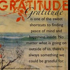 thankfulness quotes | Gratitude... | Quotes to Live By