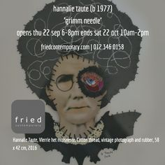 opening thu 22 sep 6-8pm @hannalie_taute #fried_contemporary.com #pretoria #events contemporary #art #exhibition
