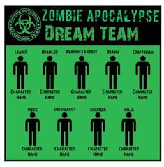 Zombob's Zombie News and Reviews: Zombie Apocalypse: Last Human Standing Male or Fem... Zombie Survival Guide, Survival Life Hacks, Survival Prepping, Survival Skills, Zombies Survival, Survival Quotes, Survival Videos, Survival Essentials, Survival Books
