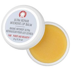 Shop First Aid Beauty& Ultra Repair® Intensive Lip Balm at Sephora. The concentrated lip treatment banishes dry lips and keeps them soft. Chapped Lips, Dry Lips, Propolis, Lip Hydration, First Aid Beauty, Lip Mask, Radiant Skin, Ingrown Hair, Shiny Hair