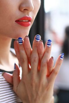Ann Yee   The Best NYFW Nail Art From Spring/Summer 2015: It's Completely Pretty, And Surprisingly Simple To Copy This Season   Bustle