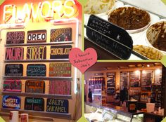 A coffee shop that serves home made ice cream. Perfection! (Sebastian Joe's, Minneapolis, MN)
