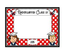 GRADUATION FRAME FREEBIE - TeachersPayTeachers.com