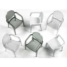 IGLOO - 2355 - CHAIRS - Polycarbonate frameVarious colour solutions, for both the transparent and the solid colour versionStackableFor indoor/outdoor use.IGLOO - 2355 - INDOOR - Polycarbonate frameVarious colour solutions, for both the transparent and the Decoration Design, Interior Exterior, Chair Design, Sweet Home, Furniture, Chairs, Plastic, Blog, See Through