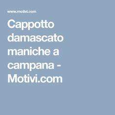 Cappotto damascato maniche a campana - Motivi.com