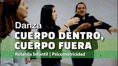 Danza CUERPO DENTRO FUERA| Canción de Campamento| Dinámica de Grupo | ... Spanish 1, Too Cool For School, Folk Music, Kids Songs, Teacher Resources, Montessori, Activities For Kids, Teaching, Education