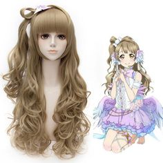 Kawaii wig cosplay wigs