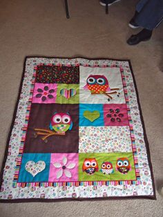 Panel Quilt Tutorial | A Crafty Escape
