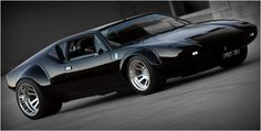 I am still in love with the De Tomaso Pantera. I especially love the way the 351 Cleveland is mounted.