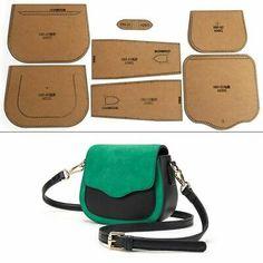 Messenger Bag Patterns, Purse Patterns, Leather Working Kit, Leather Quiver, Diy Leather Craft Tools, Leather Bag Pattern, Leather Bags Handmade, Kraft Paper, Diy Kits